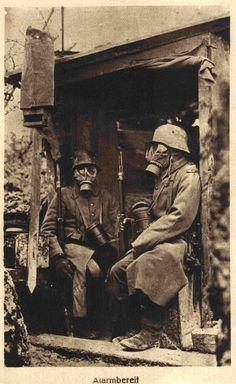 Imperial German soldiers, World War 1.