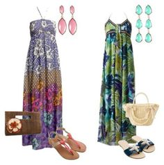Moda: 5 estilos para vestir num luau #luau #moda #oquevestir