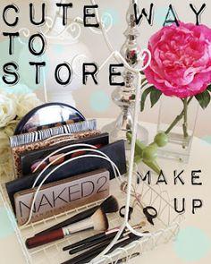 kandeej.com: Cute Way to Store Make-Up