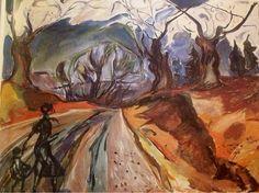 Edvard Munch, The Magic Forest on ArtStack #edvard-munch #art