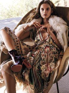 "Duchess Dior: ""La Boheme"" by Owen Bruce for California Style Magazine"
