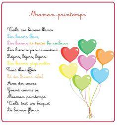 Poeme et poésie fête des mères - Maman printemps - Momes.net