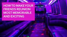 If you are looking forward to organizing a friends reunion and want to have the best of everything, do not forget to make the right transportation arrangements. Reunion is all about meeting, partying and having fun time without thinking about things like parking, arrangements and getting back. Party bus service Beaumont provides you the perfect opportunity to make your reunion the best. Wedding Limo, Party Bus, Transportation Services, Price Quote, Gps Tracking, Ways To Travel, Fun Time, Good Times, Opportunity
