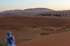 Sahara Desert near Merzouga
