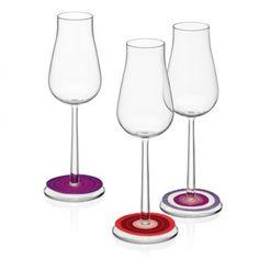 Iittala Rondello Glasmarkers: Nooit meer je glas kwijt met deze mooie glasmarkers. #feestje #party