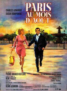 PARIS AU MOIS D'AOUT !