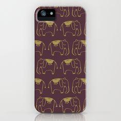 INDIAN ELEPHANTS iPhone Case