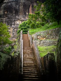 Sigiriya, Sri Lanka The Mount of Remembrance, originally a king's fortress, sits atop a 560-foot-high rock. Buses depart hourly from Dambulla.