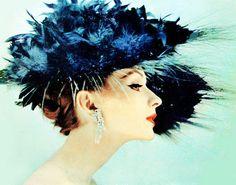 Suzy Parker, amazing hat