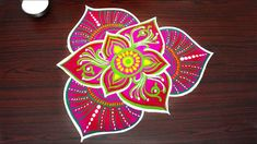 Simple and new rangoli art designs with colors for diwali festival * simple kolam * creative muggulu Diwali Special Rangoli Design, Diwali Festival, Rangoli Designs, Art Designs, Colors, Simple, Creative, Cards, Art Projects