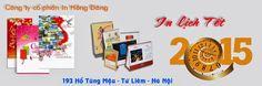 Công ty cổ phần In Hồng Đăng là đơn vị làm lịch tết 2015 trọn gói, chuyên nghiệp, giá rẻ tại Hà Nội.
