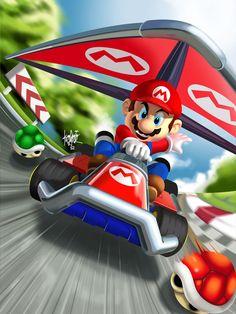 Mario Kart - manukongolo.deviantart.com