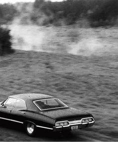 """destielsfalling: """" The Impala, of course, has all the things other cars have… and a few things they don't. But none of that stuff's important. This is the stuff that's important: the army man that Sam..."""