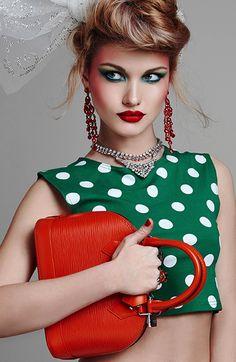 Blank Magazine, photo by Cihan Alpgiray Dots Fashion, High Fashion, Fashion  Design, dae07d482949