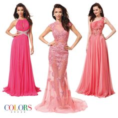 Perfect Pinks! COLORS DRESS