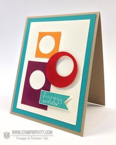 Stampin up stampin up masculine card ideas pretty order online free catalog circle punch demonstrators