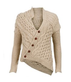 Here is another example of a Michael Kors knit sweater that has such a terrific shape it should be replicated by crochet designers. Description from crochetconcupiscence.com. I searched for this on bing.com/images