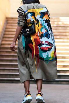 Green Fashion, Look Fashion, Diy Fashion, Ideias Fashion, Fashion Outfits, Womens Fashion, Fashion Design, Fashion Trends, Fashion Online