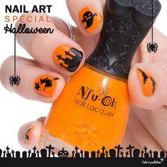 Halloween approchant à grand pas, je vous propose un petit test des nouveaux stickers en vente sur la boutique. Le numéro 457 de Nfu Oh, le orange idéal pour Halloween ! http://www.cakoapaillettes.fr/blog/halloweeeeen/  http://www.cakoapaillettes.fr/5-stickers-d-ongles