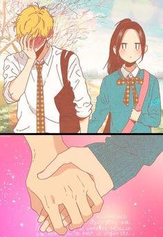 Hirunaka no ryuusei His blushes are too cute..and hilarious