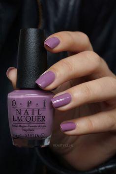 Creamy medium lavender nail polish - OPI & Heckla of a Color& - Nails - Opi Nail Polish Colors, Purple Nail Polish, Opi Nails, Purple Nails, Manicures, Opi Polish, One Color Nails, Lavender Nail Polish, Lavender Nails