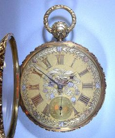 Roskell Lever and Fusee Antique pocket watch Old Pocket Watches, Old Watches, Pocket Watch Antique, Antique Watches, Antique Clocks, Vintage Watches, Punk Jewelry, Vintage Jewelry, Jewelry Watches