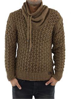 MADE TO ORDER men's crewneck Sweater turtleneck men hand knitted sweater cardigan pullover men clothing handmade men's knitting aran cabled Mens Knit Sweater, Hand Knitted Sweaters, Sweater Cardigan, Mens Fashion Sweaters, Sweater Fashion, Handgestrickte Pullover, Crewneck Sweater, Crochet Men, Turtle Neck