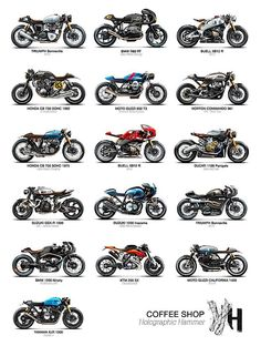 Cafe racers                                                                                                                                                                                 Mais