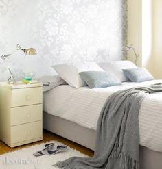 Así quedó este dormitorio después de pasar Decoratrix