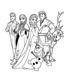 disney frozen coloring pages. Disney Coloring Pages Printables, Frozen Coloring Pages, Disney Princess Coloring Pages, Disney Princess Colors, Disney Colors, Christmas Coloring Pages, Coloring Book Pages, Coloring Sheets, Frozen Movie