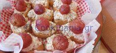 Καναπεδάκια σε μπαγκέτα με ψητά σταφύλια - Cookmania.gr
