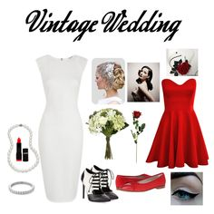 Vintage wedding complete inspiration from 40's. Simply elegant.