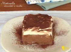 Mattonella al cioccolato e ricotta ricetta tiramisù senza uova crude il chicco di mais
