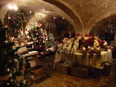 Christmas Grotto – one of the Christmas shops found in Bruges