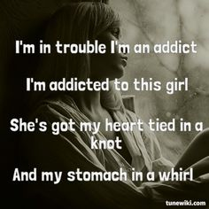 "-- #LyricArt for ""Trouble"" by Never Shout Never"