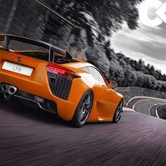Lexus LFA - is this thing out? I've seen more lambos, ferrari's, 911's, testas and gull wings than this