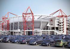 Karaiskaki Stadium, home of Olympiacos FC