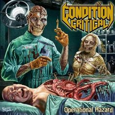condition critical by operational hazard band album artwork