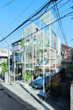 What if each house would look like this one? Tokyo/Japan  Designed by Sou Fujimoto