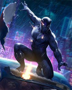 Black Panther By Junaidi Lim Junaidilim Blackpanther Tchalla Wakanda