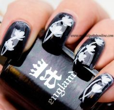 Nail Art Sunday – Black and White - My Nail Polish Online