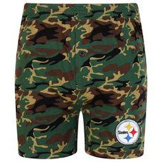 d20b5b44290 Concepts Sport Pittsburgh Steelers Camo Boxer Shorts Pittsburgh Steelers,  Boxer, Swim Trunks, Camo