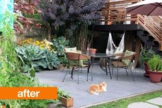 """Apartment Therapy, """"Before & After: Stevie's Back Patio"""""""