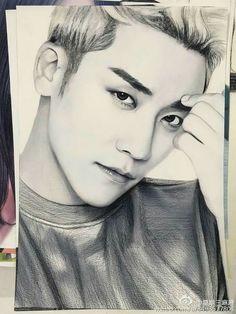 Seungri Bigbang - an awesome drawning *-*