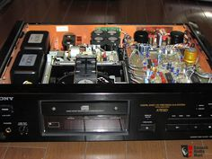 RARE SONY CDP-X7ESD CD Player- Sale Pending John Som Retro, Sony Electronics, Stereo Amplifier, Hifi Audio, Compact Disc, Cool Tech, Best Player, Audio Equipment, Audiophile