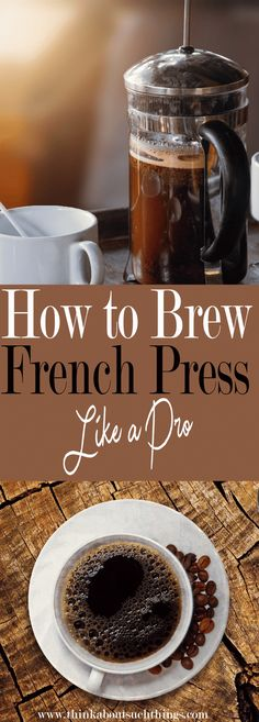 to Make the Best French Press Coffee Having the perfect cup of coffee at home is super easy with a french press!Having the perfect cup of coffee at home is super easy with a french press! Espresso Drinks, Espresso Coffee, Coffee Cups, Coffee Coffee, Coffee Time, Kona Coffee, Coffee Creamer, Coffee Tables, Best French Press Coffee