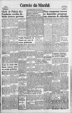 Em dezembro de 1960 o Coronel EB Antonio Luiz Barros Nunes assumiu a Chefia da Polícia, ficando no cargo até 1961. Quando passou a pasta ao Professor Hélio Tornaghi como Chefe de Polícia que ficou no cargo até o mês de setembro de 61. Em setembro de 1961 assumiu a chefia de polícia o Delegado Carlos Alberto Ferreira Nunes, ficando no cargo até abril de 1962, http://memoria.bn.br/DocReader/Hotpage/HotpageBN.aspx?bib=089842_07&pagfis=19795&pesq=&url=http://memoria.bn.br/docreader