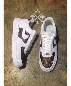 new products 36af8 ca092 Nike Air Force 1 Low Louis Vuitton Custom Trainers, Fine workmanship,  exquisite design,