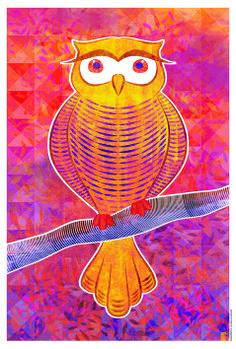De Galho em Galho I Ilustração Digital