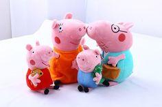 Интернет-магазин детских игрушек GGtoy.ru > Игровые наборы Пеппа > Мягкие игрушки семья свинки Пеппа